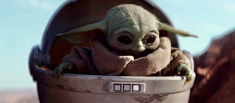 Baby Yoda Minecraft Mob Skin